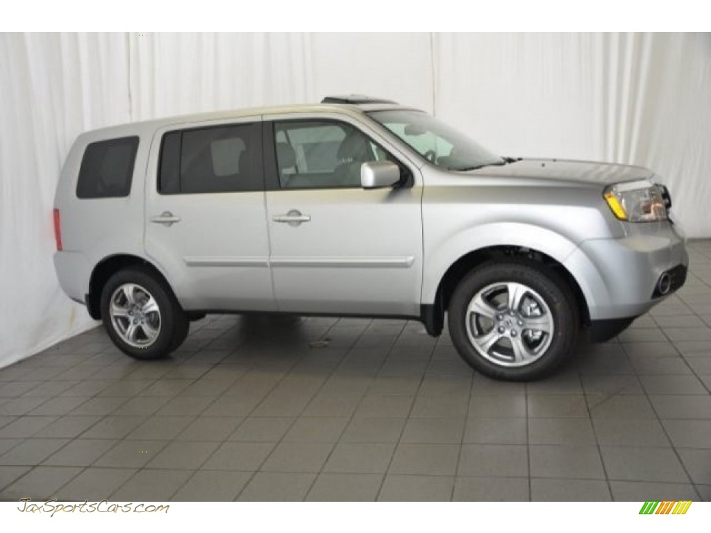 2015 honda pilot ex l in alabaster silver metallic photo. Black Bedroom Furniture Sets. Home Design Ideas
