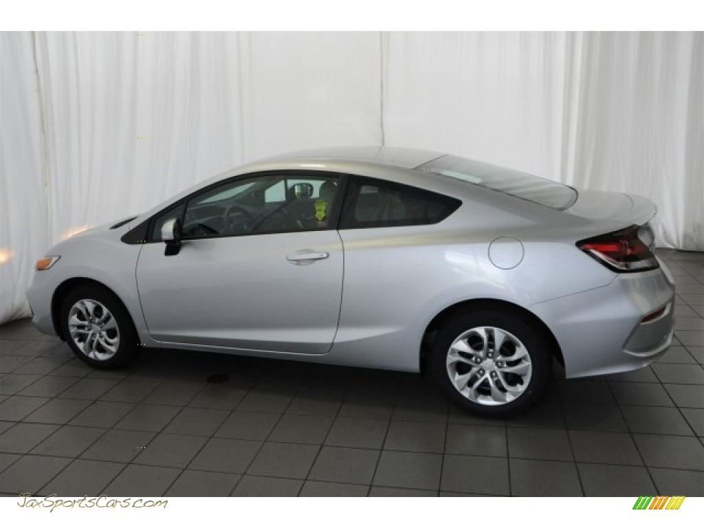 2015 Honda Civic Lx Coupe In Alabaster Silver Metallic Photo 7 510645 Jax Sports Cars
