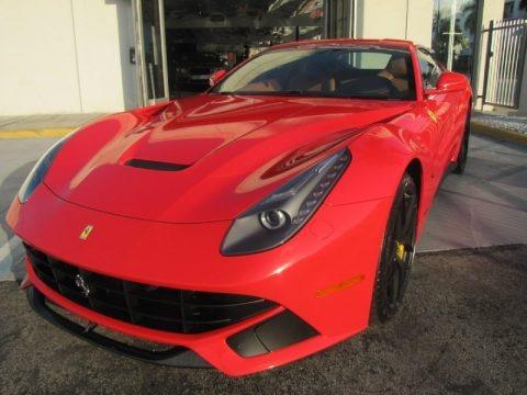 Rosso Scuderia 2014 Ferrari F12berlinetta
