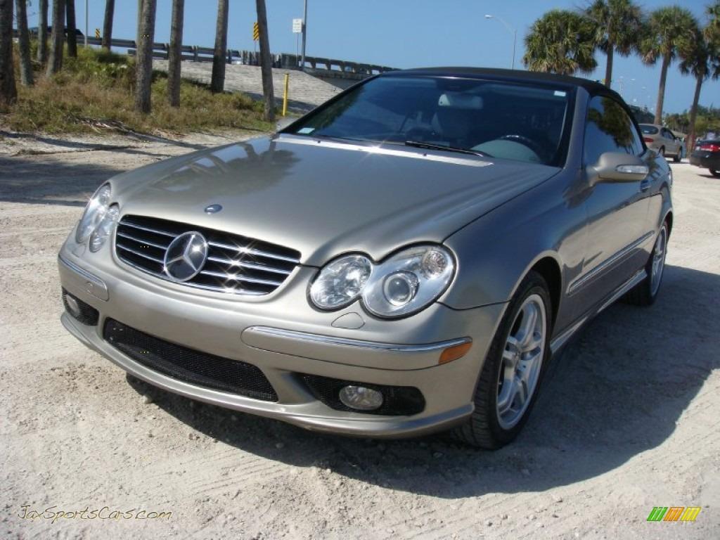 2004 Mercedes Benz Clk 55 Amg Cabriolet In Desert Silver