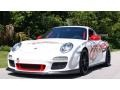 Porsche 911 GT3 RS Carrara White/Guards Red photo #2