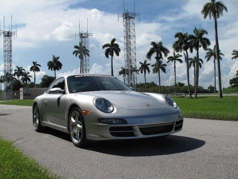 Arctic Silver Metallic 2005 Porsche 911 Carrera S Coupe