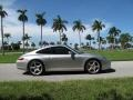 Porsche 911 Carrera S Coupe Arctic Silver Metallic photo #2
