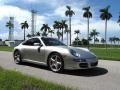 Porsche 911 Carrera S Coupe Arctic Silver Metallic photo #4