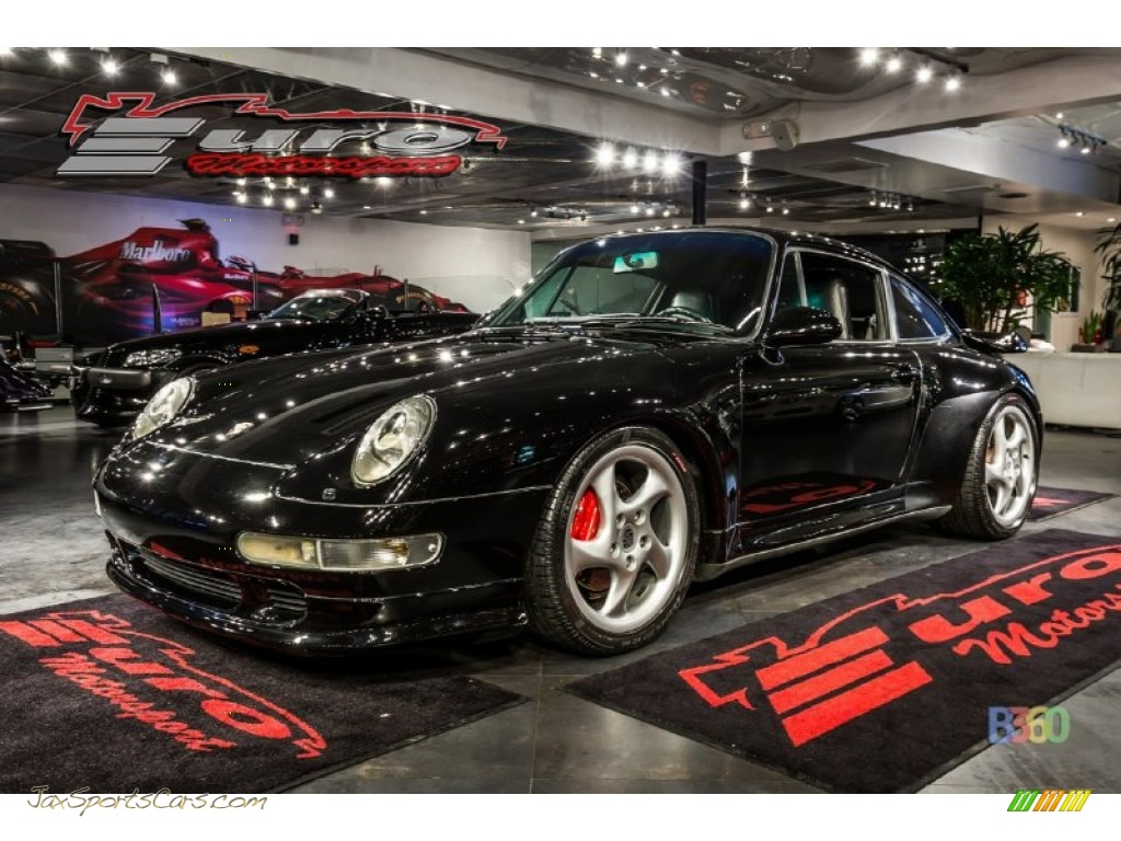 1997 911 Carrera Coupe - Black / Black photo #1