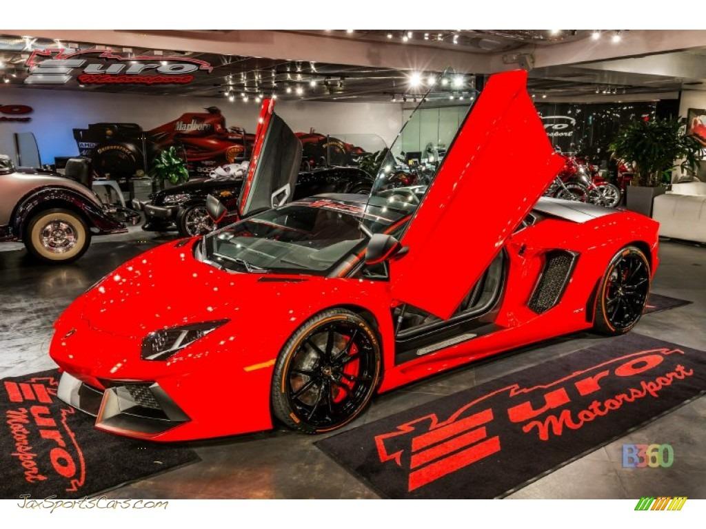 2016 Aventador LP700-4 Pirelli Serie Speciale - Rosso Mars / Nero photo #1