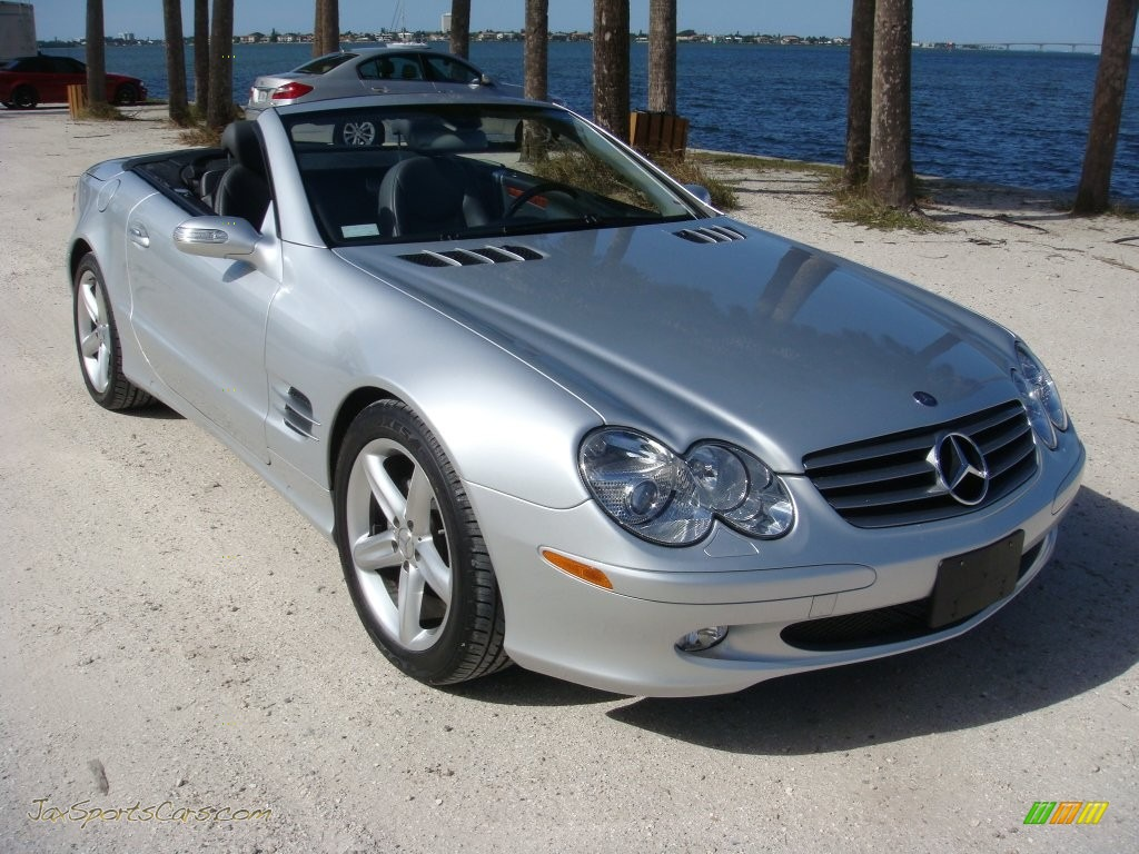 2006 mercedes benz sl 500 roadster in iridium silver for 2006 mercedes benz sl500