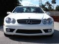 Mercedes-Benz SL 55 AMG Roadster Alabaster White photo #3