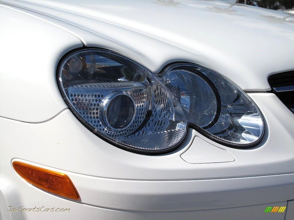 2007 SL 55 AMG Roadster - Alabaster White / Black photo #14