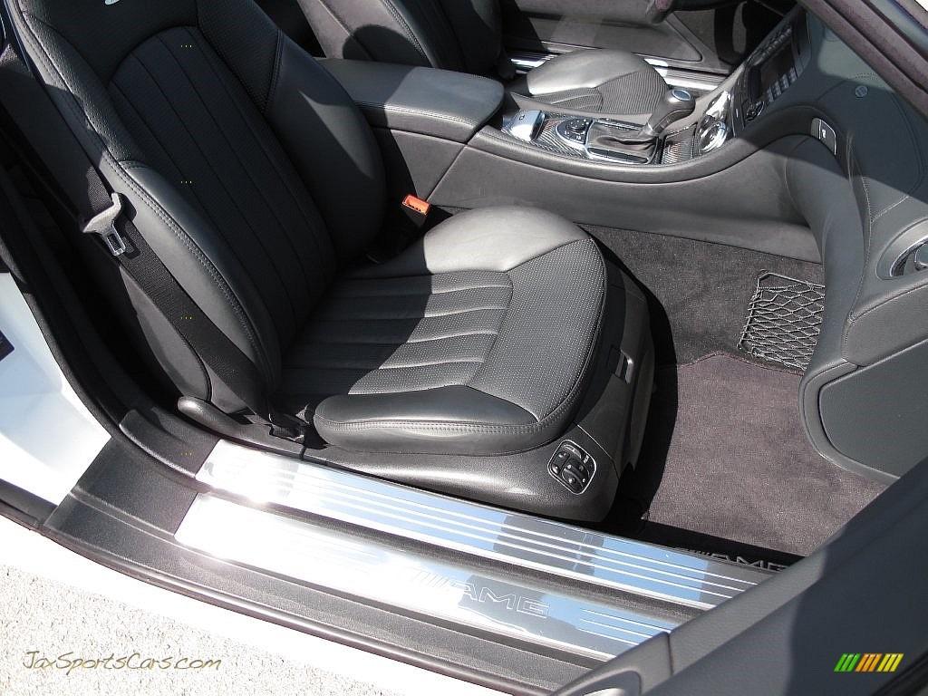 2007 SL 55 AMG Roadster - Alabaster White / Black photo #28