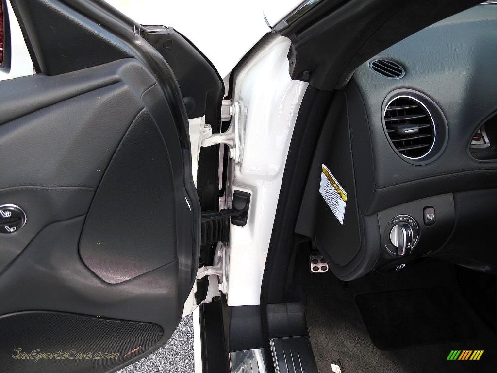 2007 SL 55 AMG Roadster - Alabaster White / Black photo #35