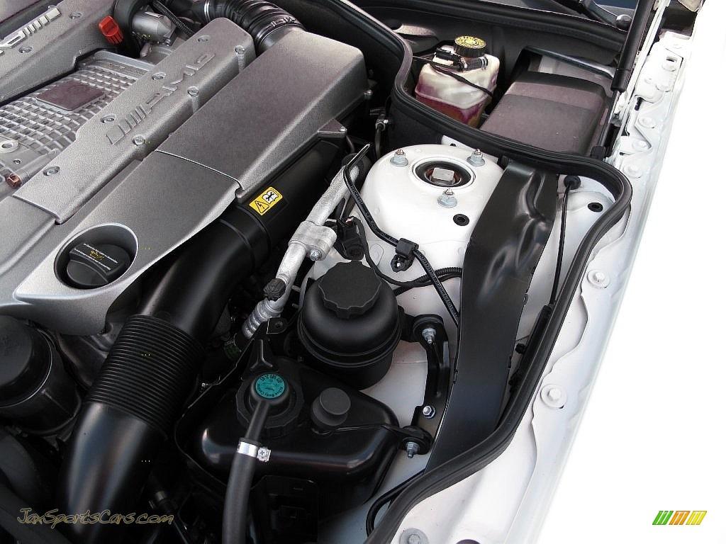2007 SL 55 AMG Roadster - Alabaster White / Black photo #38
