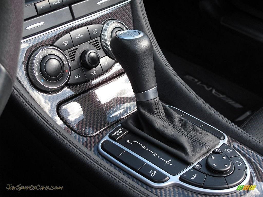 2007 SL 55 AMG Roadster - Alabaster White / Black photo #53