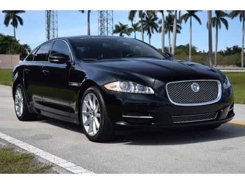 Ebony Black 2013 Jaguar XJ XJ