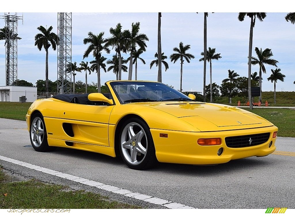 Giallo Modena (Yellow) / Black Ferrari F355 Spider