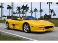 Ferrari F355 Spider Giallo Modena (Yellow) photo #1