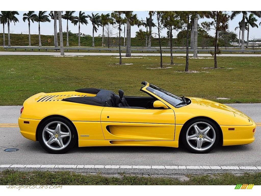 1995 F355 Spider - Giallo Modena (Yellow) / Black photo #4