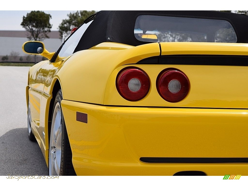 1995 F355 Spider - Giallo Modena (Yellow) / Black photo #13