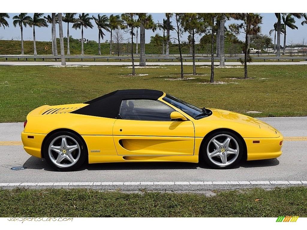1995 F355 Spider - Giallo Modena (Yellow) / Black photo #17