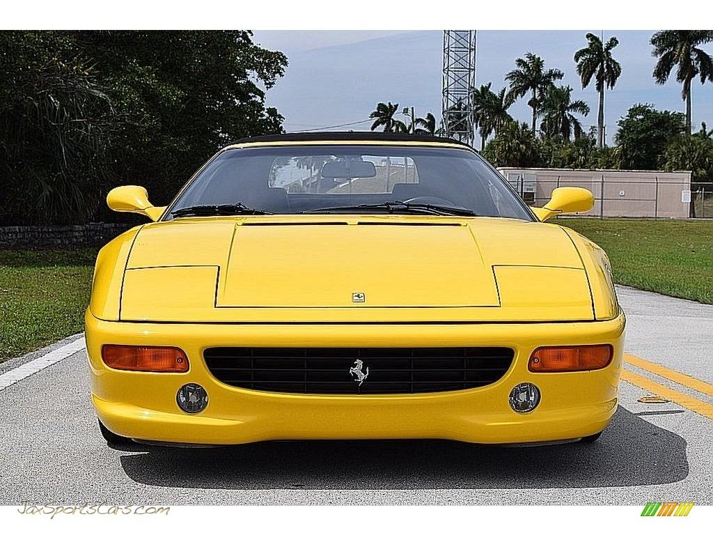 1995 F355 Spider - Giallo Modena (Yellow) / Black photo #19