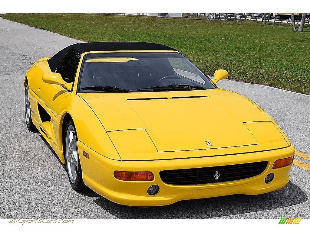 1995 F355 Spider - Giallo Modena (Yellow) / Black photo #20