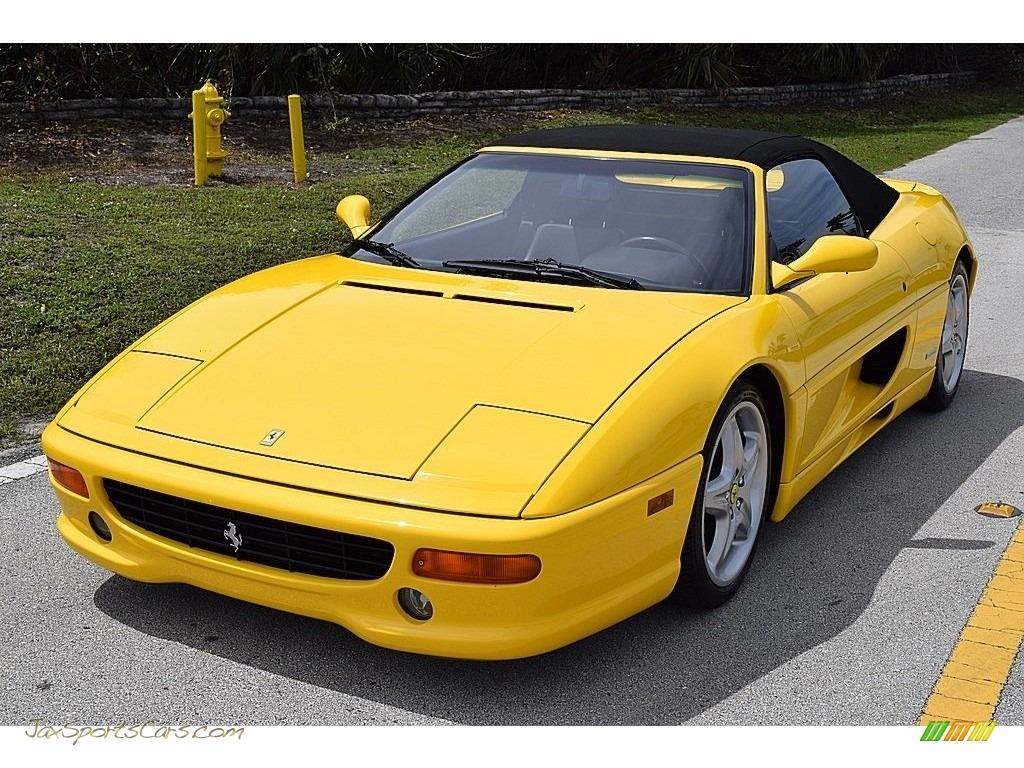 1995 F355 Spider - Giallo Modena (Yellow) / Black photo #21