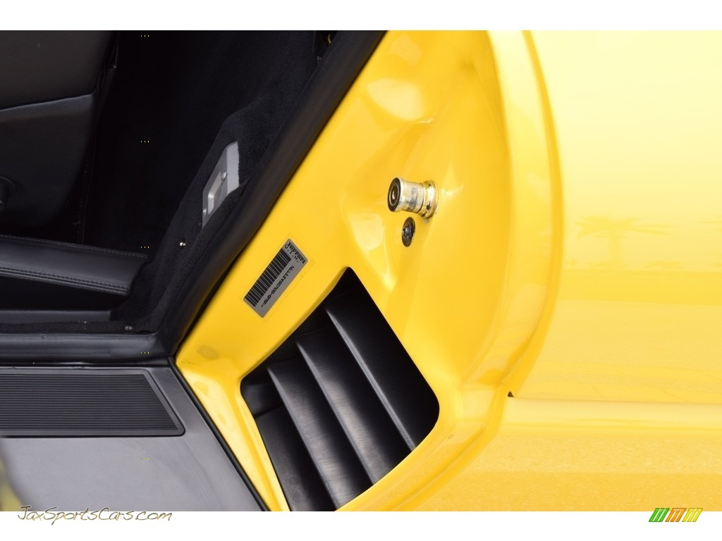 1995 F355 Spider - Giallo Modena (Yellow) / Black photo #31