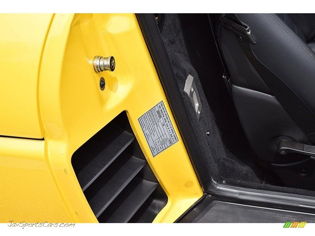 1995 F355 Spider - Giallo Modena (Yellow) / Black photo #32
