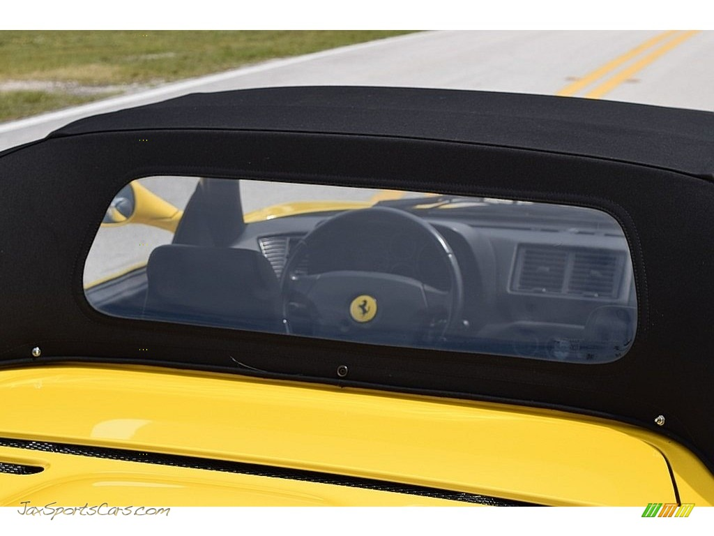 1995 F355 Spider - Giallo Modena (Yellow) / Black photo #33