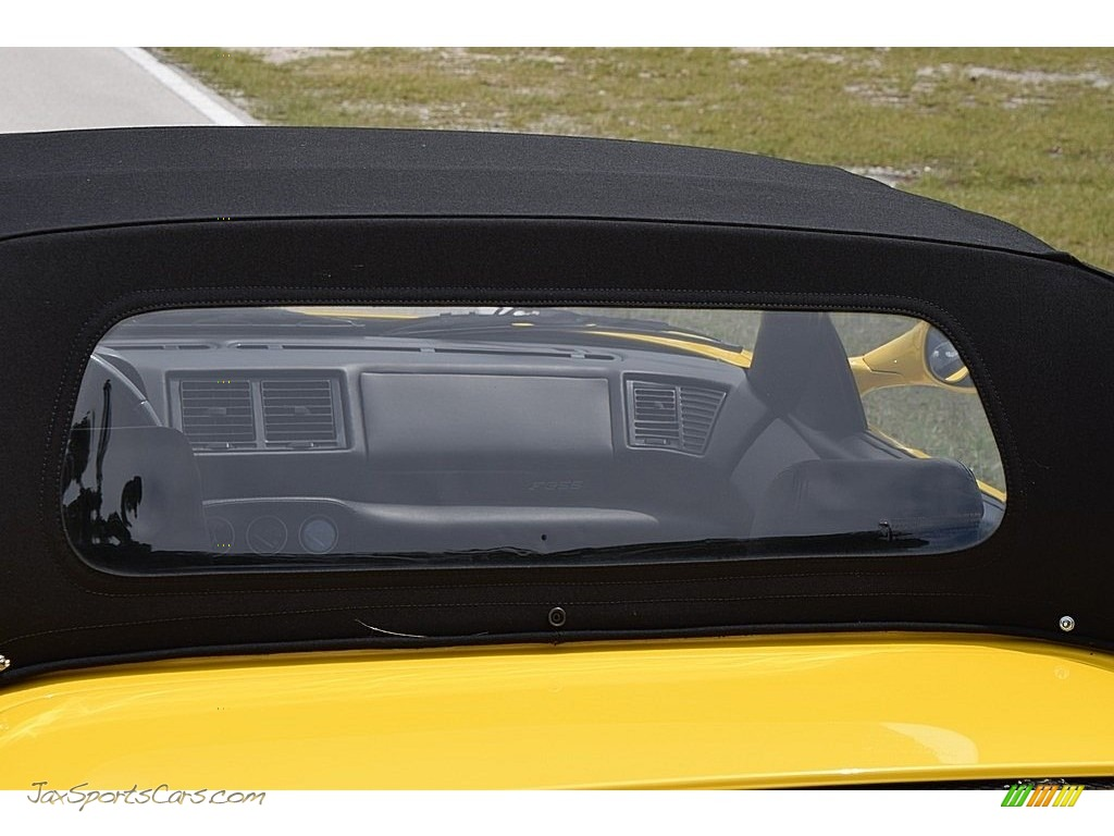 1995 F355 Spider - Giallo Modena (Yellow) / Black photo #34