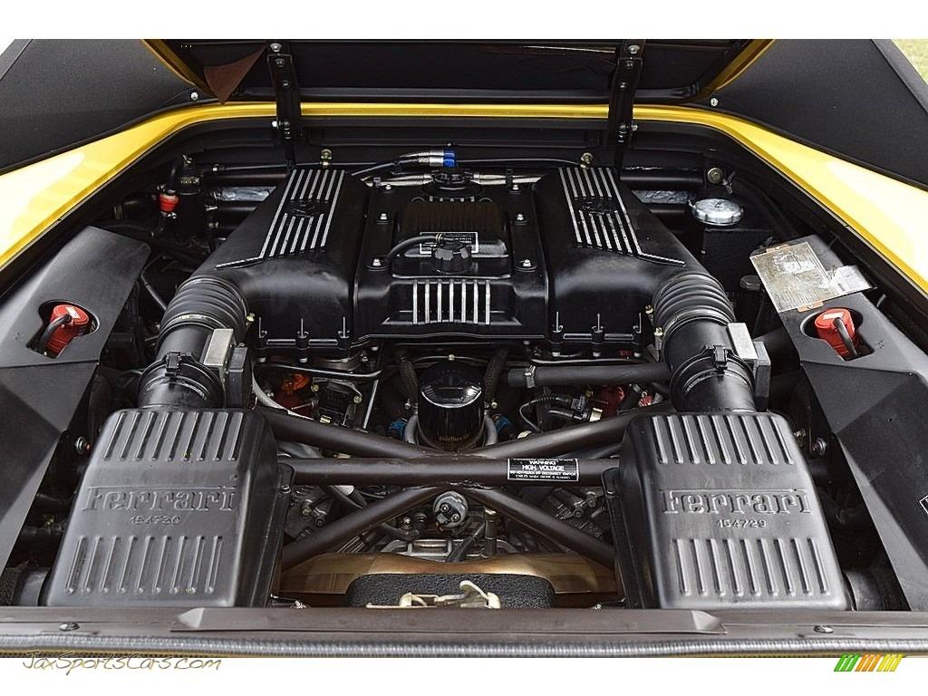 1995 F355 Spider - Giallo Modena (Yellow) / Black photo #69