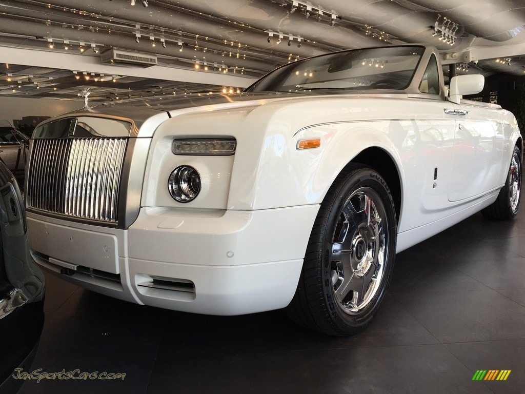 2008 Phantom Drophead Coupe  - English White / Light Creme photo #1