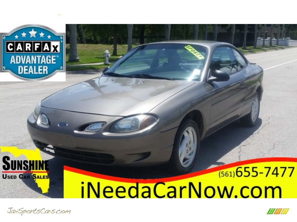 Ford ford zx2 : 2001 Ford Escort ZX2 Coupe in Sunray Gold Metallic - 215675 | Jax ...