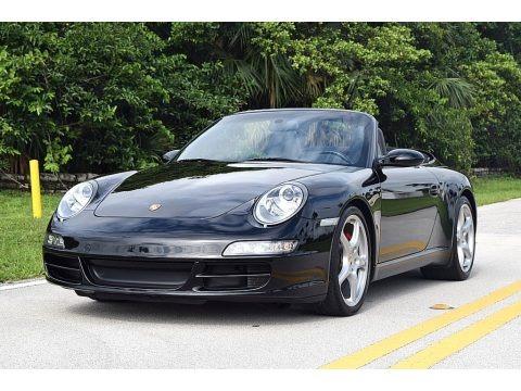 Black 2006 Porsche 911 Carrera S Cabriolet
