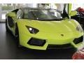 Lamborghini Aventador LP 700-4 Verde Scandal photo #2