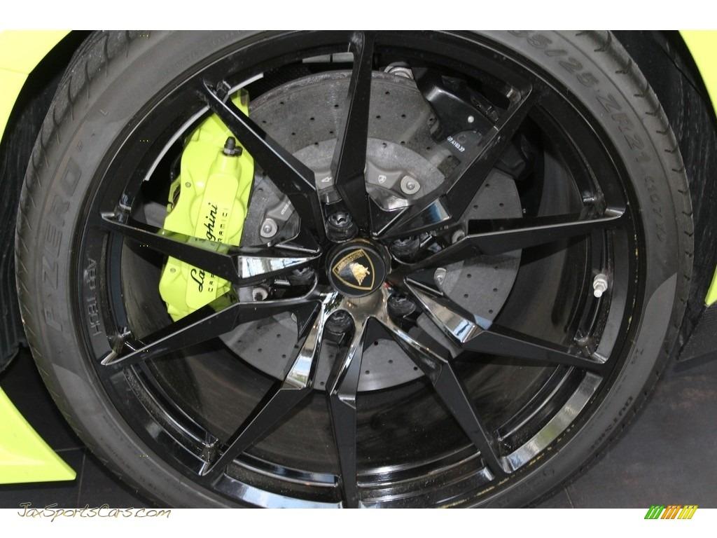 2015 Aventador LP 700-4 - Verde Scandal / Black/Green photo #4