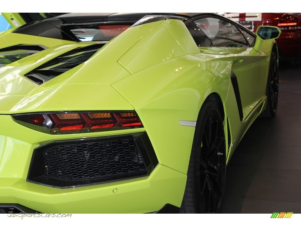 2015 Aventador LP 700-4 - Verde Scandal / Black/Green photo #5