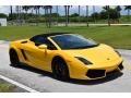 Lamborghini Gallardo LP 550-2 Spyder Giallo Midas Pearl Effect photo #4