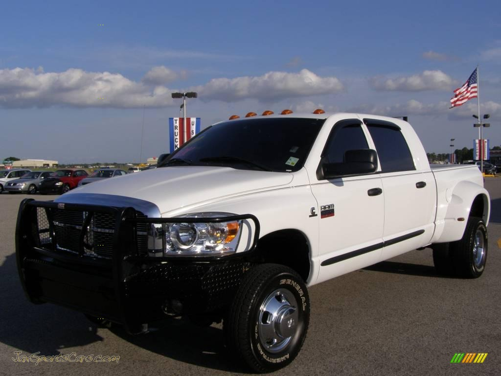 2008 Dodge Ram 3500 Slt Mega Cab 4x4 Dually In Bright