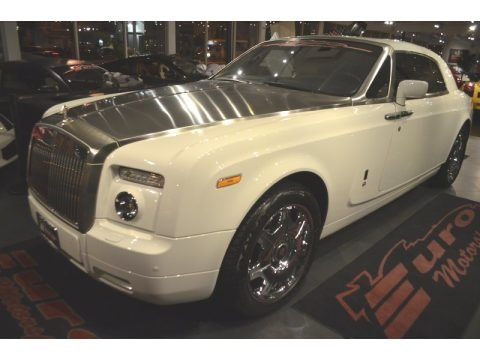 English White 2009 Rolls-Royce Phantom Coupe