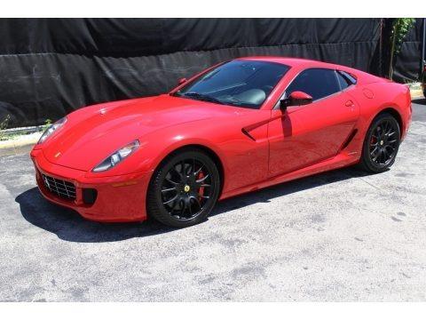 Rosso Corsa (Red) 2007 Ferrari 599 GTB Fiorano F1