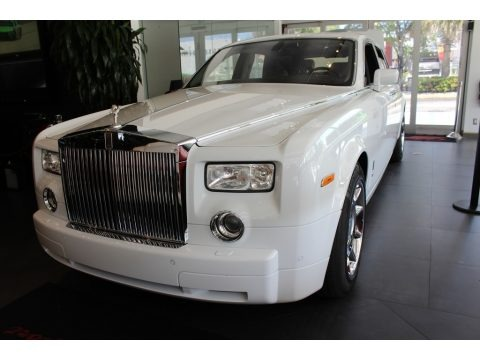 Arctic White 2005 Rolls-Royce Phantom