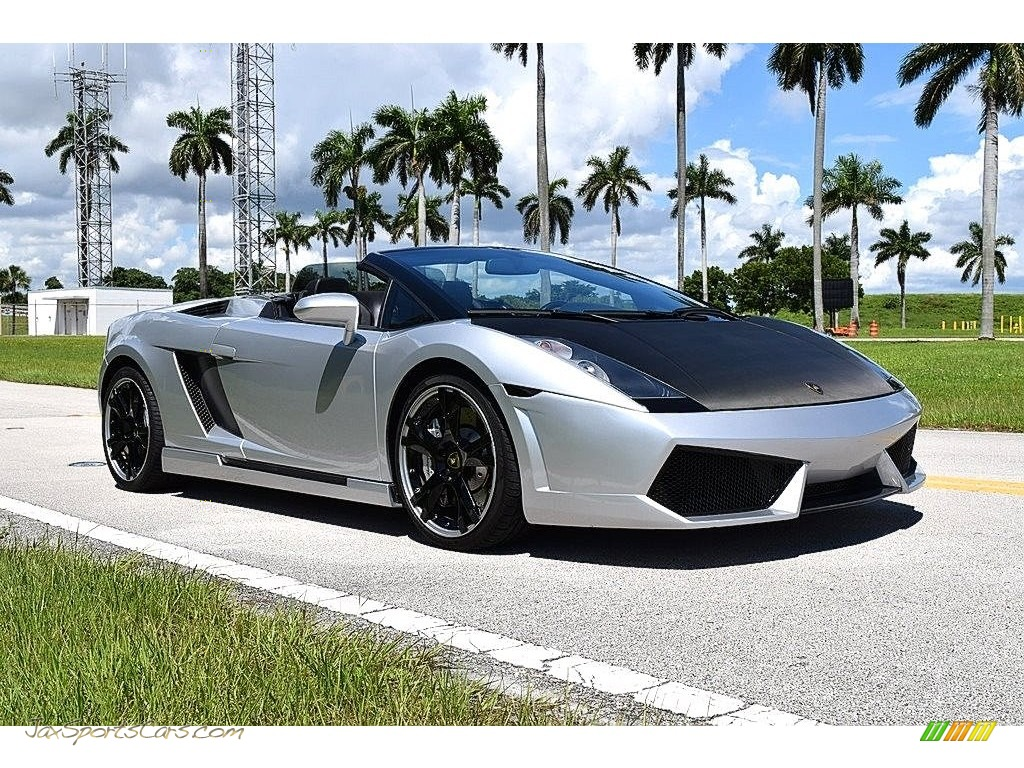 2006 Gallardo Spyder E-Gear - Grigio Altair Metallic / Nero Perseus photo #1