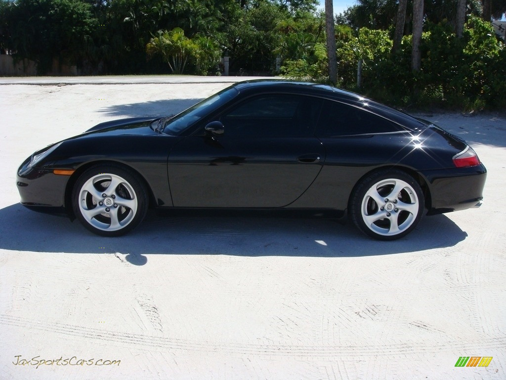 2004 911 Targa - Black / Black photo #4