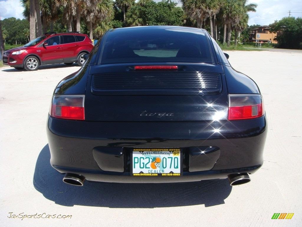2004 911 Targa - Black / Black photo #6
