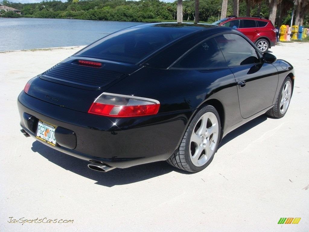 2004 911 Targa - Black / Black photo #7