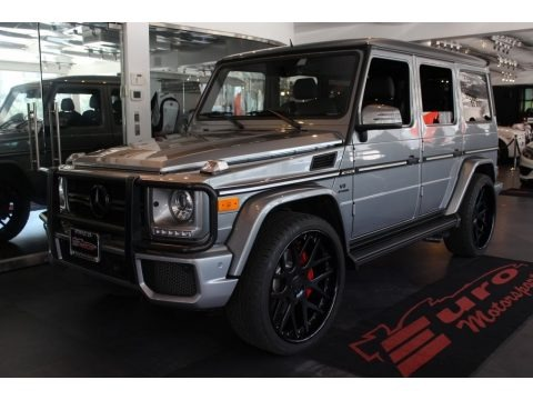 Paladium Silver Metallic 2013 Mercedes-Benz G 63 AMG