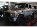 Mercedes-Benz G 63 AMG Paladium Silver Metallic photo #1