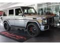 Mercedes-Benz G 63 AMG Paladium Silver Metallic photo #4