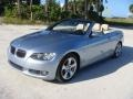 BMW 3 Series 328i Convertible Blue Water Metallic photo #3